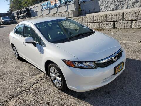 2012 Honda Civic for sale at Fortier's Auto Sales & Svc in Fall River MA
