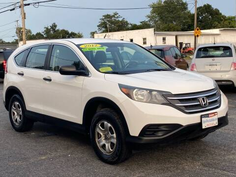 2012 Honda CR-V for sale at MetroWest Auto Sales in Worcester MA