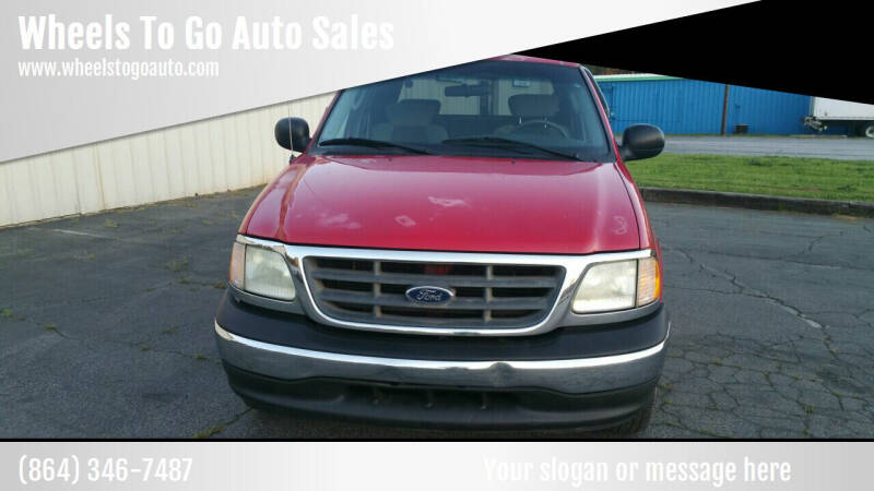 2003 Ford F-150 for sale at Wheels To Go Auto Sales in Greenville SC