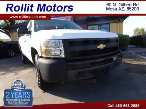 2010 Chevrolet Silverado 1500 for sale at Rollit Motors in Mesa AZ