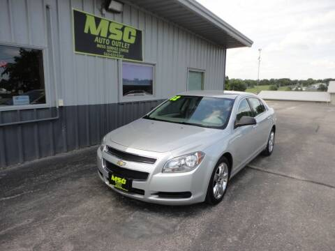 2012 Chevrolet Malibu for sale at Moss Service Center-MSC Auto Outlet in West Union IA