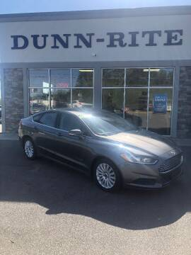 2013 Ford Fusion Hybrid for sale at Dunn-Rite Auto Group in Kilmarnock VA