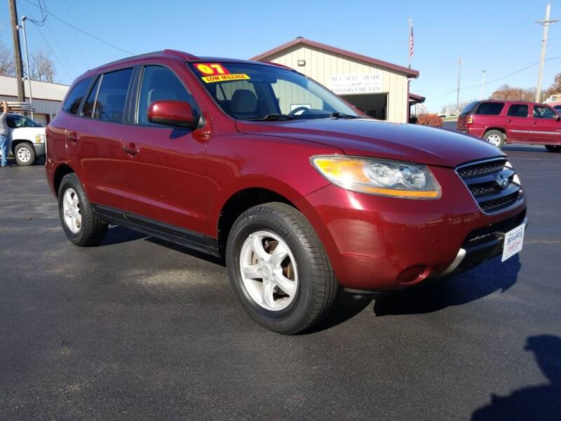 2007 Hyundai Santa Fe for sale at Holland's Auto Sales in Harrisonville MO