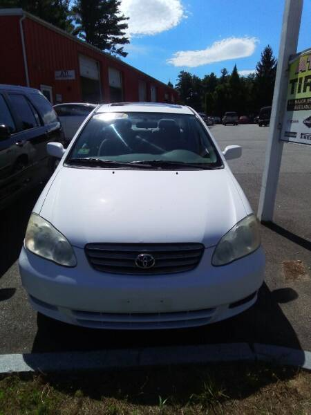 2004 Toyota Corolla for sale at ATI Automotive & Used Cars Inc. in Plaistow NH