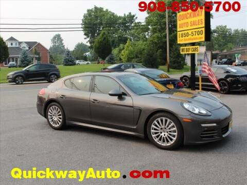 2014 Porsche Panamera for sale at Quickway Auto Sales in Hackettstown NJ