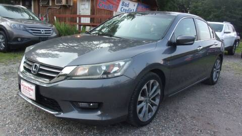 2014 Honda Accord for sale at Select Cars Of Thornburg in Fredericksburg VA