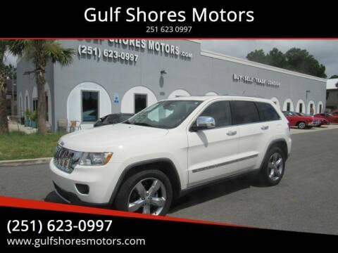 2011 Jeep Grand Cherokee for sale at Gulf Shores Motors in Gulf Shores AL