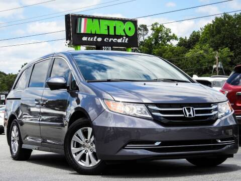 2015 Honda Odyssey for sale at Metro Auto Credit in Smyrna GA