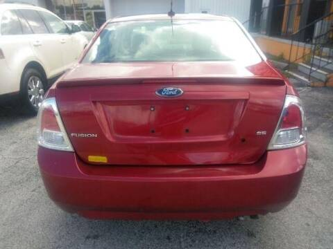 2009 Ford Fusion for sale at JacksonvilleMotorMall.com in Jacksonville FL