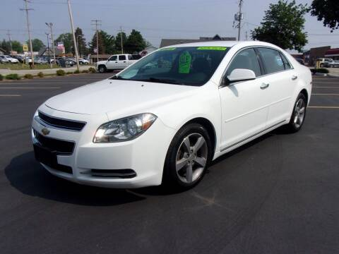 2012 Chevrolet Malibu for sale at Ideal Auto Sales, Inc. in Waukesha WI