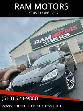 2014 BMW M6 for sale at RAM MOTORS in Cincinnati OH