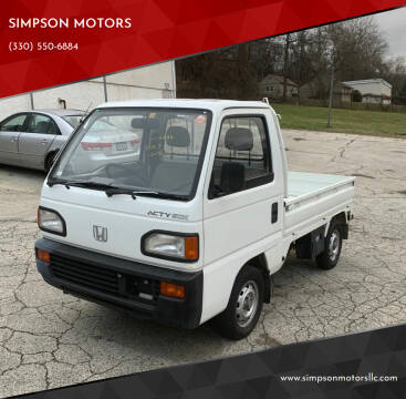 1993 Honda ACTY for sale at SIMPSON MOTORS in Youngstown OH