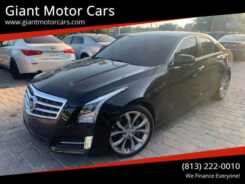 2013 Cadillac ATS for sale at Giant Motor Cars in Tampa FL