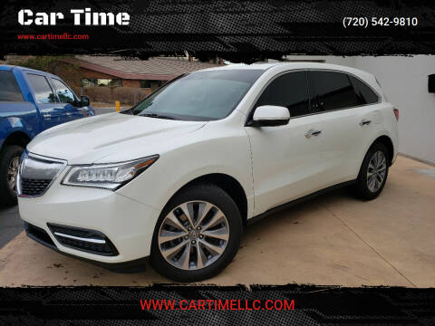 2015 Acura MDX for sale at Car Time in Denver CO