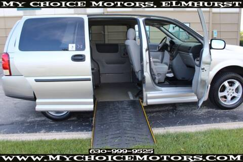 2008 Chevrolet Uplander for sale at Your Choice Autos - My Choice Motors in Elmhurst IL