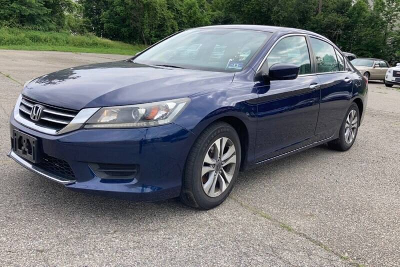2014 Honda Accord for sale at TRANS P in East Windsor CT