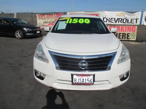 2014 Nissan Altima for sale at Quick Auto Sales in Modesto CA