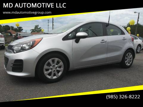 2017 Kia Rio 5-Door for sale at MD AUTOMOTIVE LLC in Slidell LA