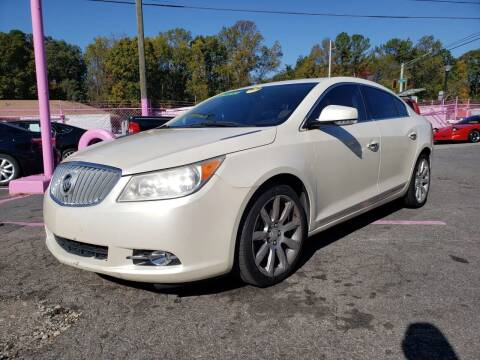 2010 Buick LaCrosse for sale at Fast and Friendly Auto Sales LLC in Decatur GA