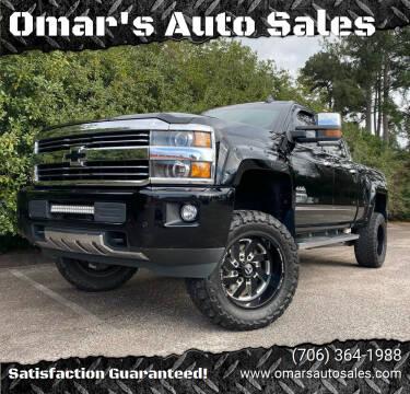 2016 Chevrolet Silverado 2500HD for sale at Omar's Auto Sales in Martinez GA