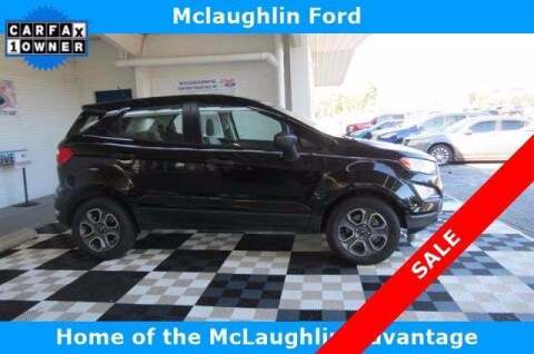 2018 Ford EcoSport for sale at McLaughlin Ford in Sumter SC