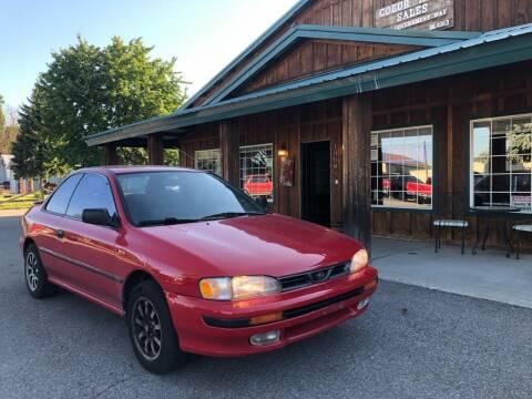 1995 Subaru Impreza for sale at Coeur Auto Sales in Hayden ID