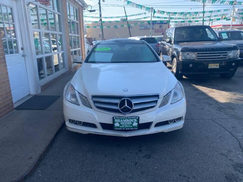 2010 Mercedes-Benz E-Class for sale at Park Avenue Auto Lot Inc in Linden NJ