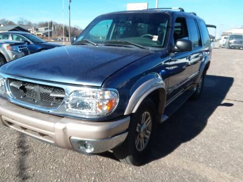 2000 Ford Explorer for sale at Affordable 4 All Auto Sales in Elk River MN