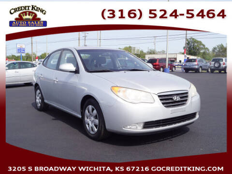 2007 Hyundai Elantra for sale at Credit King Auto Sales in Wichita KS