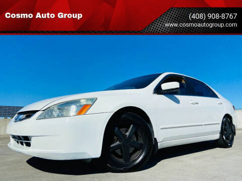 2003 Honda Accord for sale at Cosmo Auto Group in San Jose CA