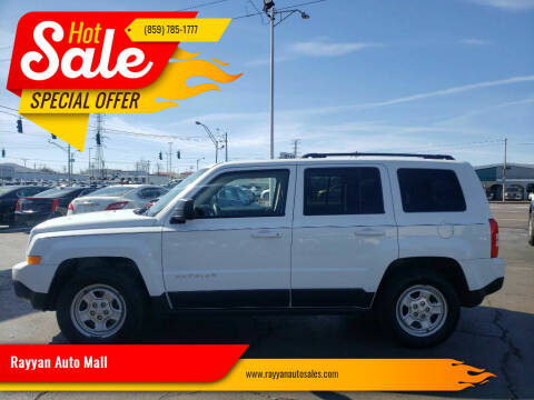 2016 Jeep Patriot for sale at Rayyan Auto Mall in Lexington KY