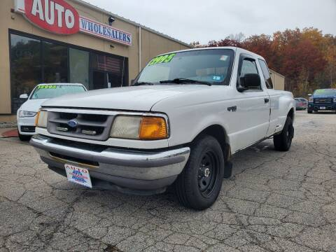 1997 Ford Ranger for sale at Auto Wholesalers Of Hooksett in Hooksett NH