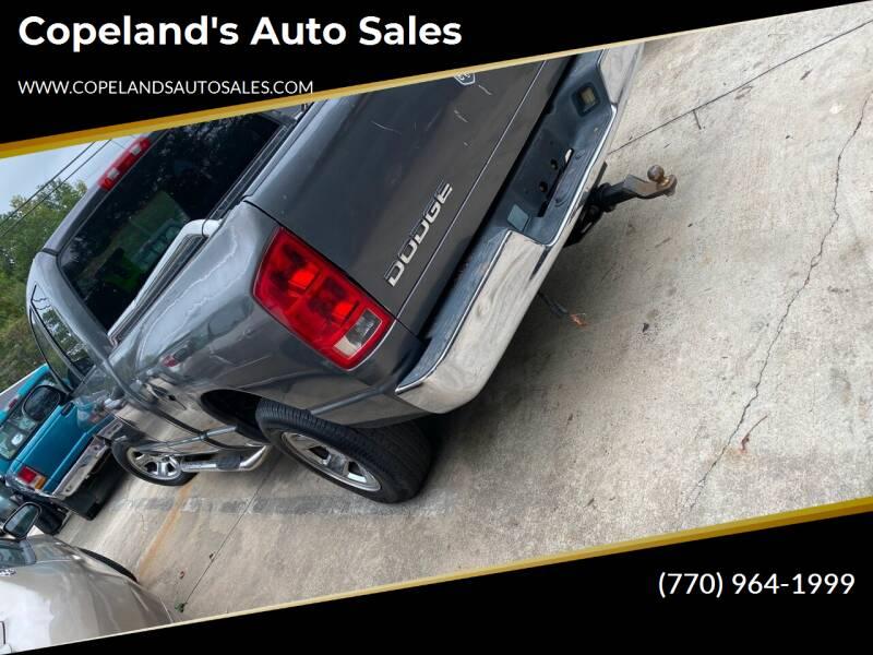 2003 Dodge Ram Pickup 1500 for sale at Copeland's Auto Sales in Union City GA