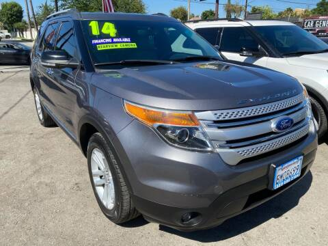 2014 Ford Explorer for sale at CAR GENERATION CENTER, INC. in Los Angeles CA