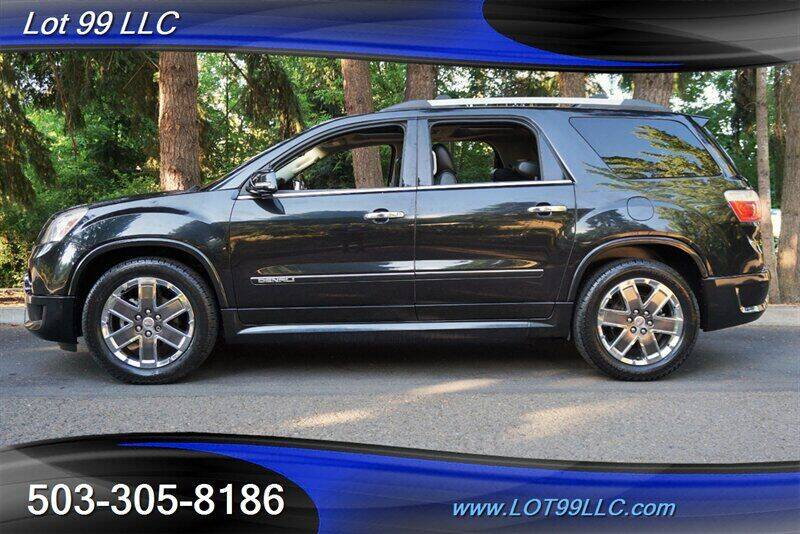 2012 GMC Acadia for sale at LOT 99 LLC in Milwaukie OR