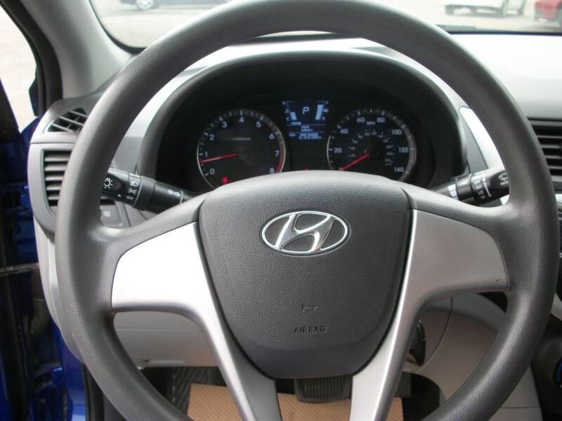 2014 Hyundai Accent GLS 4dr Sedan - Chehalis WA