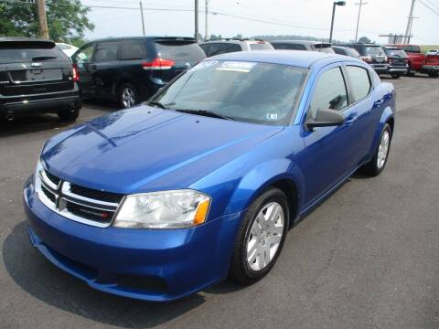 2014 Dodge Avenger for sale at FINAL DRIVE AUTO SALES INC in Shippensburg PA
