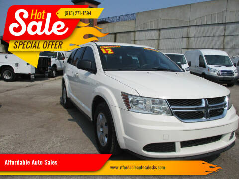 2012 Dodge Journey for sale at Affordable Auto Sales in Olathe KS