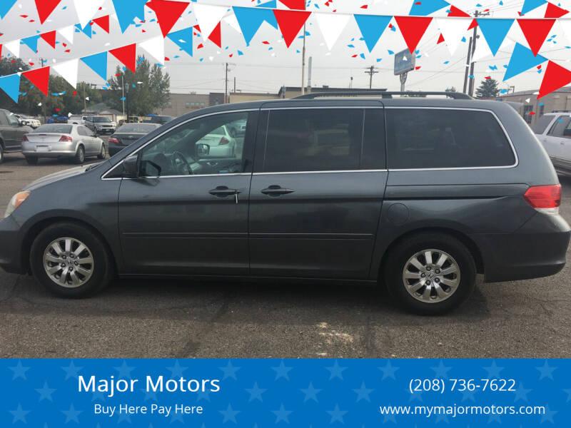 2010 Honda Odyssey for sale at Major Motors in Twin Falls ID