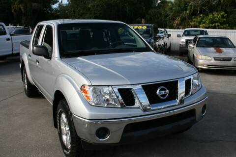 2011 Nissan Frontier for sale at Mike's Trucks & Cars in Port Orange FL