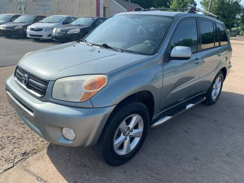 2004 Toyota RAV4 for sale at New To You Motors in Tulsa OK