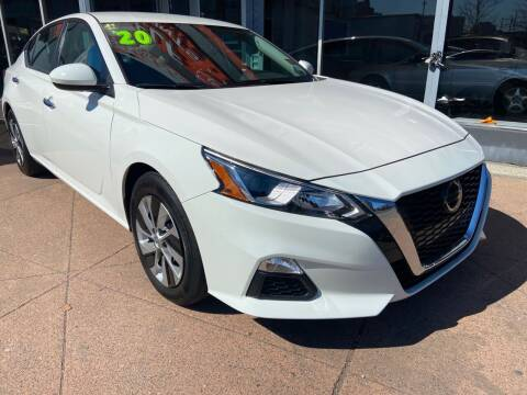 2020 Nissan Altima for sale at TOP SHELF AUTOMOTIVE in Newark NJ