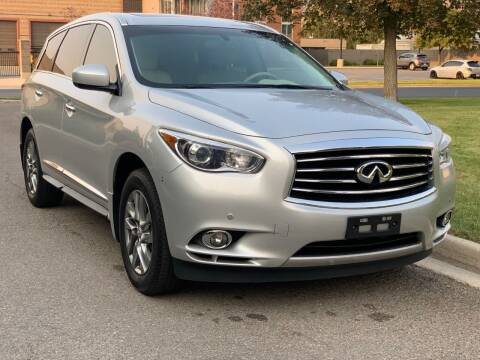 2013 Infiniti JX35 for sale at A.I. Monroe Auto Sales in Bountiful UT