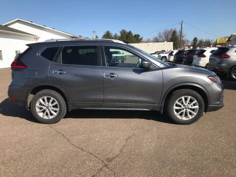 2017 Nissan Rogue for sale at Mays Auto Sales and Service in Stanley WI
