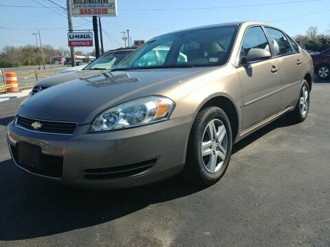 2006 Chevrolet Impala for sale at Regional Auto Sales in Madison Heights VA