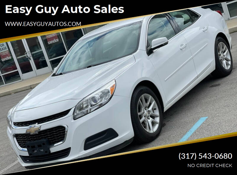 2015 Chevrolet Malibu for sale at Easy Guy Auto Sales in Indianapolis IN