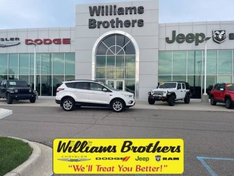 2018 Ford Escape for sale at Williams Brothers - Pre-Owned Monroe in Monroe MI