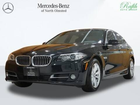 2015 BMW 5 Series for sale at Mercedes-Benz of North Olmsted in North Olmstead OH