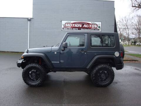 2007 Jeep Wrangler for sale at Motion Autos in Longview WA
