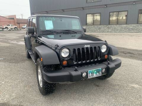 2012 Jeep Wrangler Unlimited for sale at ALASKA PROFESSIONAL AUTO in Anchorage AK